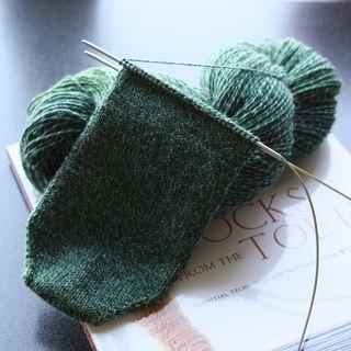 Croft sock skein